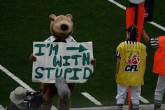 Saskatchewan ROUGHRIDERS Gainer the Gopher :D