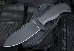 Winkler Utility Knife - KG Finish - Micarta