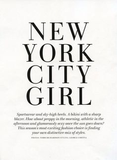 (I'm a) new york city girl - I love NYC more than any other place I've been so far in my life. Nous York, Shopping In New York, I Love Nyc, My Love, Fran Fine, Girls Sportswear, A New York Minute, Nyc Girl, Empire State Of Mind