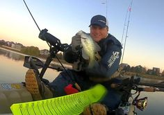 """Kayak fisher Dan """"Pondboy"""" Byrne writes for the DuPage Angler website. He chases carp and crappie and lives on his SOT."""