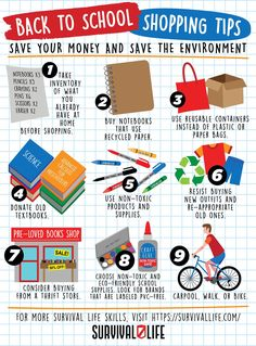 Check out these tips on ✅ How to Save the Environment While Saving Money in this Back to School Shopping Tips Guide! #backtoschool #shoppingtips #survivaltips #survival #preparedness #survivallife Survival Hacks, Survival Life, Survival Skills, Back To School Shopping, Shopping Tips, Calculus, Save Your Money, Old Ones, Love Book