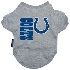 Indianapolis Colts Dog Tee Shirt - Medium