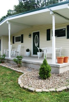 1000 images about landscaping on pinterest landscaping for Landscape design around farmhouse front porch