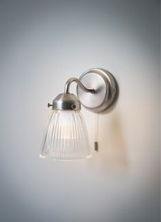 This stunningly chic, retro feel Pimlico bathroom wall light is an ideal solution for all types of bathroom lighting. Sconces, Bathroom Lighting, Glass Shades, Glass Bathroom, Bathroom Wall Lights, Mirror With Lights, Wall Lamp, Wall Sconce Lighting, Bathroom Wall