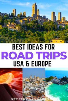 Want to have the road trip of your lifetime? Check out my list of best road trip ideas! Road Trip Ideas I I Epic Road Trips Ideas I Fun Road Trips Ideas I Romantic Road Trips Ideas I Best Road Trips Ideas I Europe Road Trips Ideas I American Road Trips Ideas I California Road Trips Ideas I United Sates Road Trips Ideas I American Road Trips Ideas I USA Road Trips Ideas I Birthday Road Trips Ideas I Road Trip Routes I Best Road Trip Routes I Best American Road Trip I Europe Road Trip Routes Road Trip Europe, Road Trip Packing, Us Road Trip, Road Trip Essentials, Road Trip Hacks, Europe Travel Guide, Travel Destinations, Travel Abroad, Travel Guides