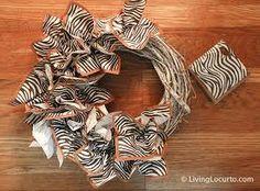 Napkin wreath
