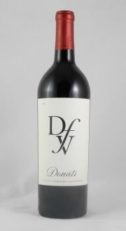 Donati Family Vineyard 2008 Cabernet Sauvignon ~ This is a food-lover's Cabernet Sauvignon. With great balance and strong fruit flavors, this wine is ready to be enjoyed now. With just a hint of oak and vanilla, this wine will pair well with anything from grilled rib-eyes to dark chocolate. Alc. 14.4% by Vol.