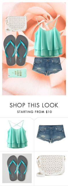 """""""I am very busy"""" by jessicaj-311 on Polyvore featuring True Religion, American Eagle Outfitters, Under One Sky and ban.do"""