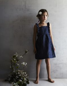 It's no secret that Mabo Kids is one of my favorite children's clothing brands. Mabo is a ho Little Girl Fashion, Fashion Kids, Toddler Fashion, Mabo Kids, Les Enfants Sages, Kids Clothing Brands, Inspiration Mode, Pinafore Dress, Kid Styles