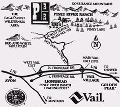 piney river ranch map | Ben and Alonna's Wedding - Getting To PRR