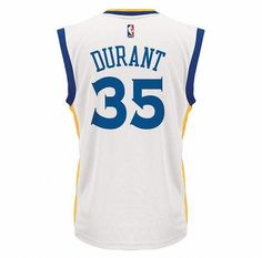 1923a29b71cab This men s Kevin Durant replica jersey from adidas is perfect for any Golden  State Warriors fan.