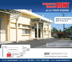 AW Property Ltd - Rental of Warehousing Space. Tel: 234 0224 / 59 40 24 58