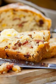 Bacon  Mielie (Corn) Bread