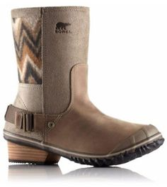 Women's Sorel Slimshortie Chevron Boot