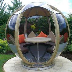 70 Different Design Ideas for Patio Gazebo Garden Patio Sets, Garden Pods, Patio Gazebo, Backyard Canopy, Garden Gazebo, Clever Design, Outdoor Furniture, Outdoor Decor, Garden Furniture