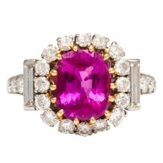 VAN CLEEF & ARPELS RUBY AND DIAMOND RING