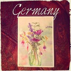 2015-10-26 #Postcard from #Germany (DE-4636545) via #postcrossing #flowers #Berlin