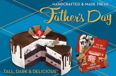 father's day grill cake