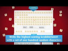 March 8, 2012 - Denuology.com: Excellent way to promote the new scrabble game #Twitterscrabble #socialmedia