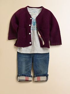 Burberry Infant's Cashmere Cardigan