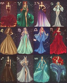 ZODIAC COLLECTION ⭐💫 by Anastasia Kosyanova ❤ Which one is your favorite? (Swipe 👉🏼) Comment below 👇🏻 Aries ♈ Taurus ♉ Gemini ♊… sternzeichen verseau vierge zodiaque Zodiac Signs Chart, Zodiac Signs Sagittarius, Zodiac Signs Dates, Zodiac Star Signs, Leo Zodiac, Astrology Zodiac, Scorpio Art, Zodiac Traits, Cancer Zodiac Art