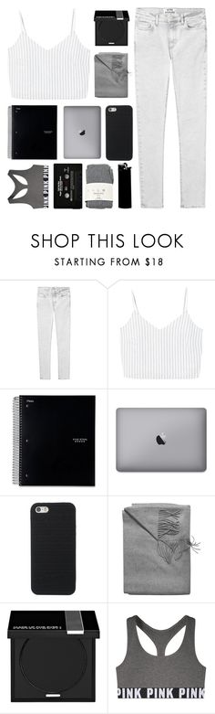 """IN THE MIDDLE OF THE NIGHT, IN MY DREAMS"" by s-erene ❤ liked on Polyvore featuring Acne Studios, MANGO, Sofiacashmere, MAKE UP FOR EVER, Victoria's Secret, Falke, WALL, reputation and readyforit"