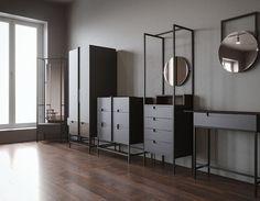 Furniture 3D rendered models by Arthur Carvalho Vieira http://mindsparklemag.com/design/furniture-3d-rendered-models/