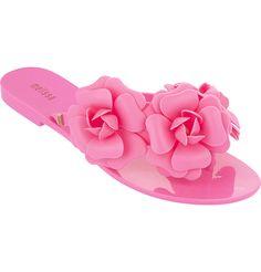 Love Melissa flip flops