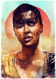 New print in my store... @CharlizeAfrica #Furiosa from @MadMaxMovieUK hope you all like it !! http://lostmind.bigcartel.com/product/furiosa
