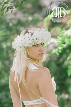 Flower halo - Images by #Bella Muse Photography Model #Monica Wakefield.