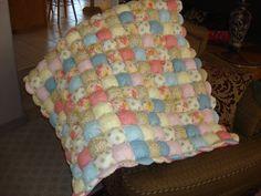 puff baby quilt