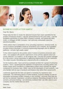 Financial Analyst Business Economics Resume Sample Resume - Business process analyst cover letter