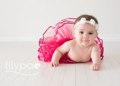 Sienna is six months old Baby photography perth