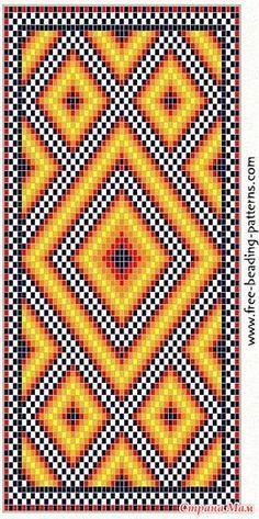 Lots of free-beading-patterns-e. Beading Patterns Free, Seed Bead Patterns, Peyote Patterns, Cross Stitch Patterns, Crochet Chart, Bead Crochet, Tunisian Crochet, Tapestry Crochet Patterns, Quilt Patterns
