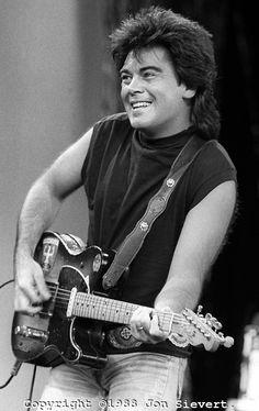 Marty Stuart, July 1986, Volunteer Jam, Nashville. American country ...