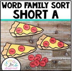 Word Family Sort Sho