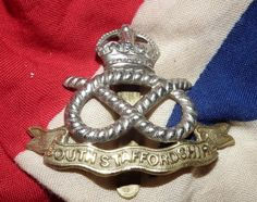 Geniune South Staffordshire Regiment Cap Badge by KettleholmAntiques on Etsy The Cheshire, Kings Crown, British Army, World War Ii, Ww2, Trench, Badge, Two By Two, Military
