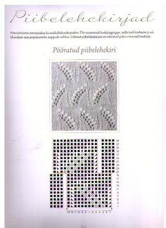 Estonian lace stitch pattern