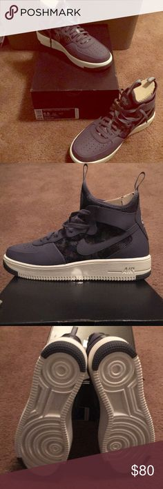 Nike Air Force 1 purple 8 size 39 315186441   Nike air force, Air force and  Sports shoes