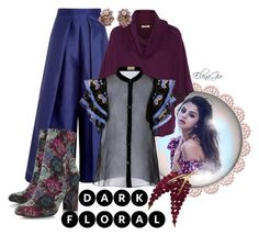 """Senza titolo #1890"" by elenagio ❤ liked on Polyvore featuring Solace, Dune, Joie, Temperley London and Trifari"