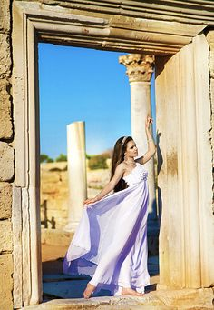 Greek Wedding dress #greek goddess