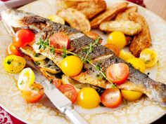 Get Stuffed Whole Fish-Greek Style Recipe from Cooking Channel