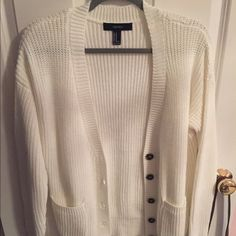 Forever 21 knit cardigan sweater Very comfy! Never worn, no tags. Forever 21 Sweaters Cardigans