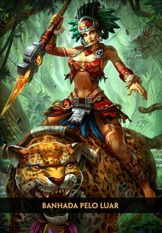 Awilix - Deusa da Lua - Deuses - SMITE - MOBA em terceira pessoa   Level Up!