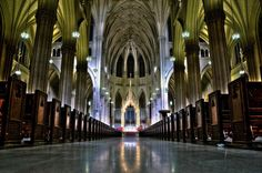 Saint Patrick's Cathedral in New York City. Credit Steve Kelley