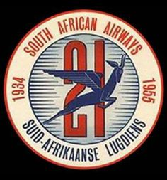 Suid-Afrikaanse Lugdiens South African Air Force, South African Design, Nostalgia, Label Image, Vintage Labels, Vintage Travel Posters, Funny Photos, Branding Design, Luggage Labels