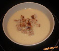 Pórová polievka so zemiakmi Russian Recipes, Homeland, Soup, Polish, Meat, Dinner, Cooking, Dining, Kitchen