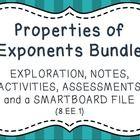 Properties of Exponents - Bundle