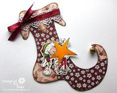 Stempeleinmaleins: Elfensocke - elf sock