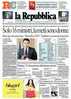 La Repubblica   Edizioni Locali - 22.02.2014  Italian | True PDF | 69 Pages | 37 MB